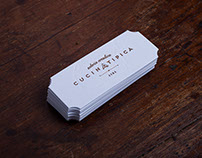 LETTERPRESS BUSINESS CARD - HOT FOIL