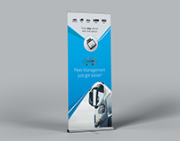Rollup Design - Fleet Up Trade Show Banner