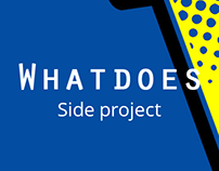 Whatdoes / 1st collaborative onomatopeia library