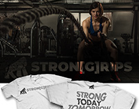Strongrips CrossFit T-Shirt Design