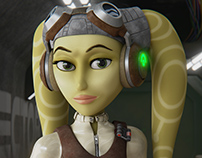 Star Wars 3D Fan-Art - Hera Syndulla