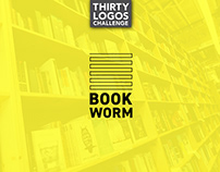 THIRTY LOGOS - DAY 14 - BOOKWORM