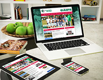Gymea United Football Club website refresh