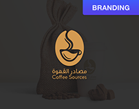 Coffee Sources Brand Identity