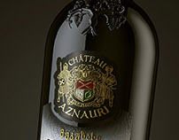 "Georgian wine ""Chateau Aznauri"""