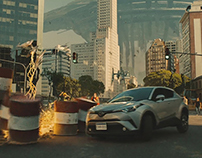 TOYOTA C-HR Crossover the world
