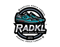 RAD.KL logo design