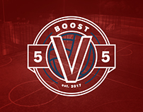Boost 5v5 | 5 a Side Football Branding