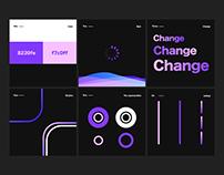 The beauty of design/Dark mode&purple