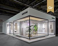 Stand design at Cersaie 2017 | Durstone