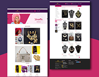 An Ecommerce web Design for AFashion Website