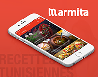 Application Marmita