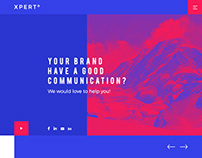 Xpert® Agency // Responsive PSD Website Template