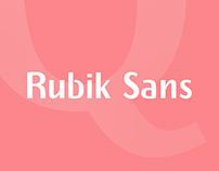 Rubik Sans - Free Font