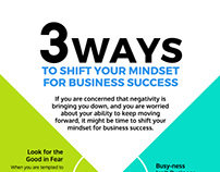 3 ways to shift your Mindset for Business success