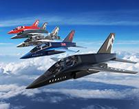 AERALIS Jet Renders