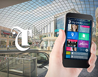 Land Securities Trinity Leeds mobile app pitch designs
