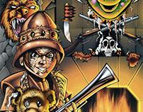 Joshua Pure Evil! Issue 2- Comic Book Lettering