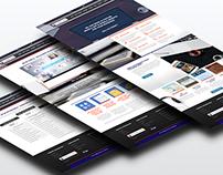 Web Design for mobile app company website