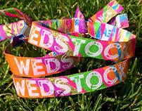 Wedstock Wristband Festival Wedding Favours
