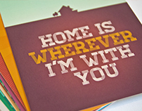 Edward Sharpe & The Magnetic Zeros 'Home' Postcards