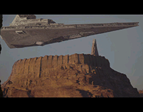 EXERCICES : StarWars Scene reproduction