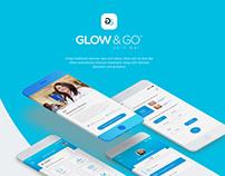App Design for Glow & Go Skin Clinic