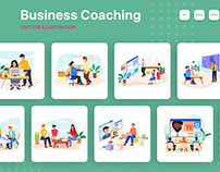 M158_Business Coaching Illustrations