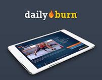Daily Burn iOS App