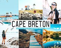 Free Cape Breton Mobile & Desktop Lightroom Presets