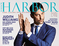 Cover Retouch  Tony Ward for Harbor Magazine
