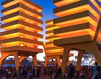Alexandre Arrechea - Coachella Festival