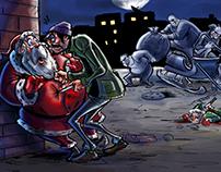 Poor Santa !!