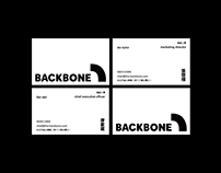 BACKBONE - Ergonomic Chair Branding Design.