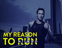 Milano Marathon - website design proposal