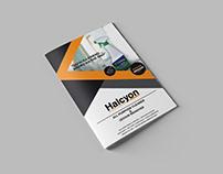 Halcyon Brochure Design