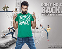 JACK & JONES :DONT HOLD BACK keyart