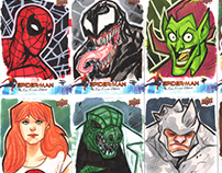 Spiderman Far From Home - Sketch Cards