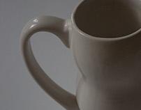 Wave beer mug