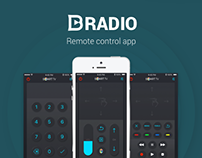 Bradio — smart TV remote app