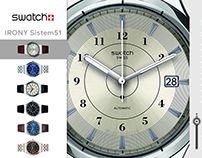 Swatch Microsite Video AD