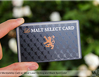 Black Metal Membership Card Le Malt Select