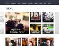 Vienu - Ultimate Magazine & Blog Theme