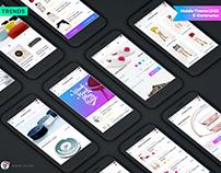 Mobile Theme UI kit | E-commerce