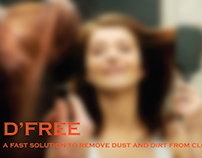 D'Free- A fast dust removal solution for clothes