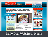 Love Creative UK Daily Deal Website & Support Media