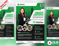 PSD Business Promotion Flyer Template