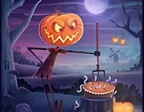 Halloween Cuisine: Jack's Pumpkin Pie