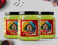 Aji Mami Traditional Homemade Hot Sauce Brand Identity