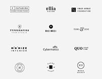 20 Free Minimal Vector Logo Templates